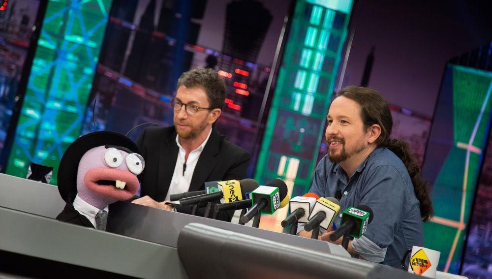 """El cuestionario más comprometido a Pablo Iglesias, por Trancas y Barrancas: """"Donde hay tensión, siempre hay sexo"""""""