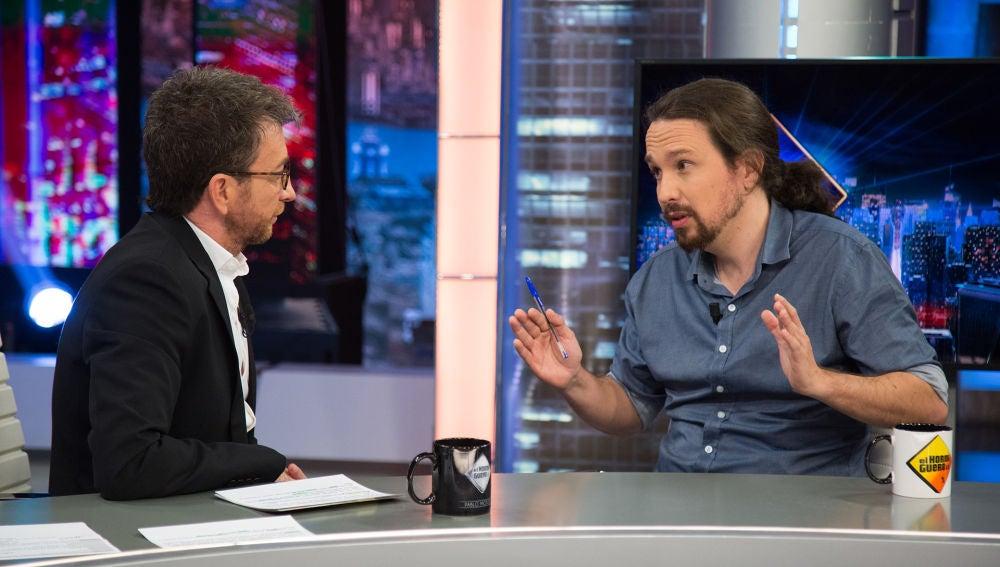 """Pablo Iglesias, sobre Amancio Ortega: """"España no es una república bananera que dependa de que un señorito venga dando cosas"""""""