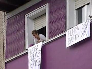 Continúa la tensión entre vecinos y okupas de Santurce