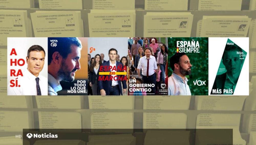 ¿Cómo afrontan los partidos políticos la campaña electoral?