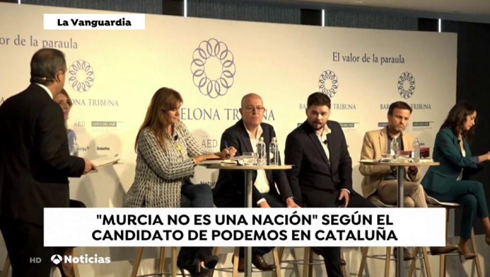 """El rifirrafe entre Asens y Arrimadas: """"¿Es Murcia una nación?"""""""
