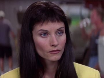 Courteney Cox como Gale Weathers en 'Scream 3'