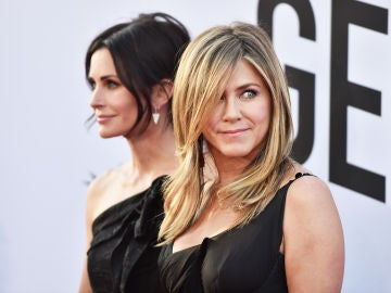Jennifer Aniston y Courteney Cox ('Friends')