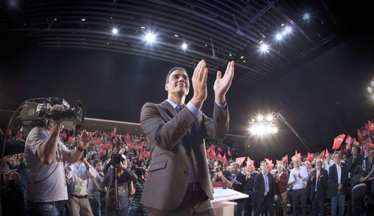 El presidente en funciones del Gobierno, Pedro Sánchez