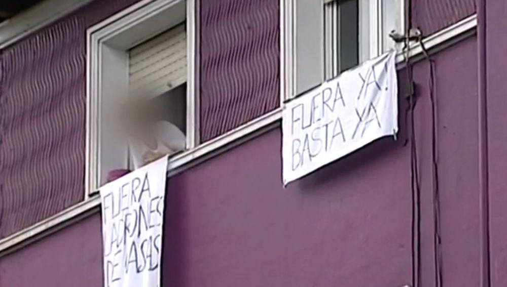 La lucha contra los okupas de Santurce