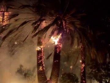 Una docena de incendios activos obliga a desalojar de sus casas a un millar de personas en California