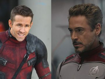 Ryan Reynolds y Robert Downey Jr.