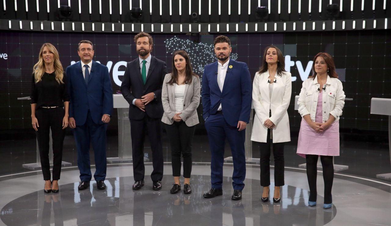 Debate electoral de RTVE