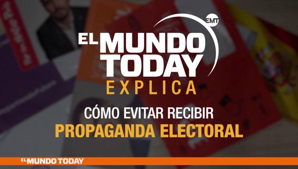 El Mundo Today explica la propaganda electoral