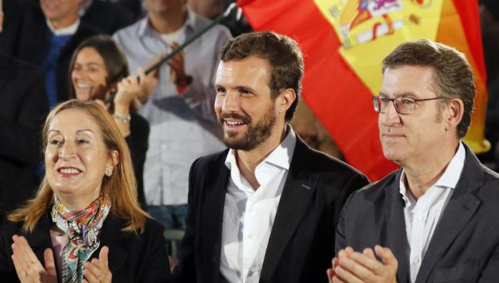 """Casado asegura que el PP tiene las """"mismas opciones"""" de gobernar que Sánchez"""