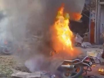 Un coche bomba deja al menos 13 muertos en Siria