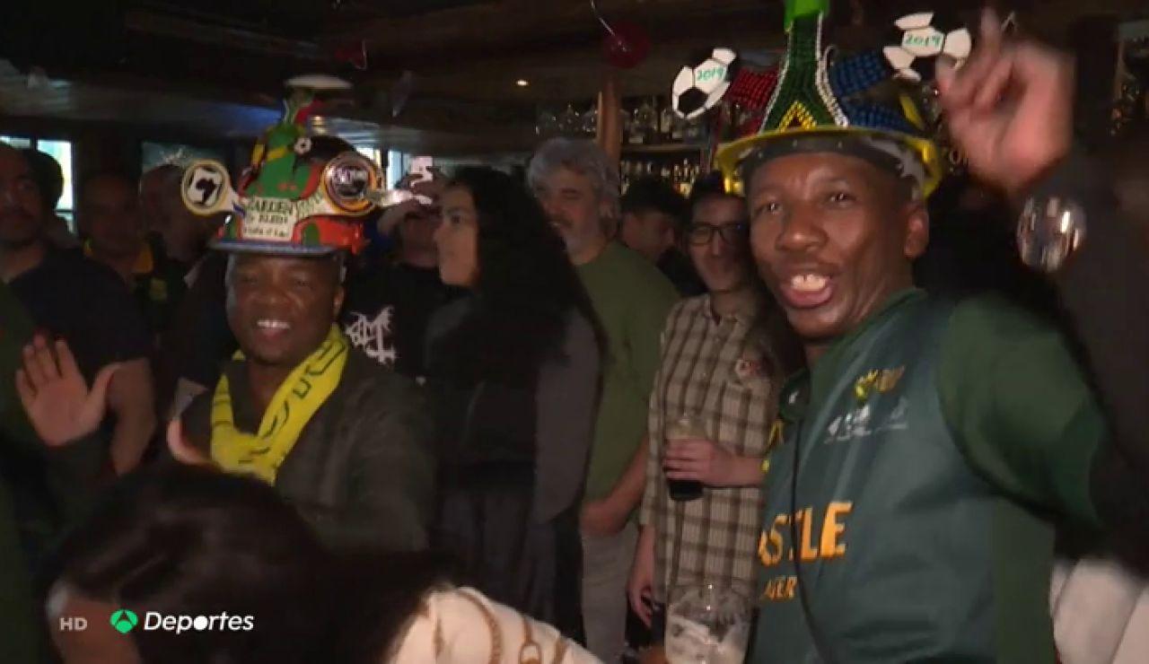 Así se ha vivido en un bar de Madrid la final del Mundial de rugby