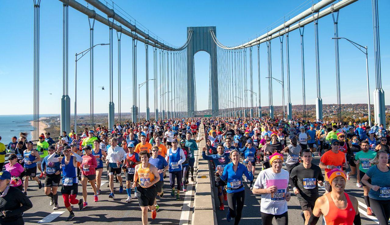 Cancelan el maratón de Nueva York por el coronavirus