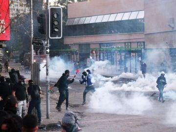 Imagen de las protestas en Chile