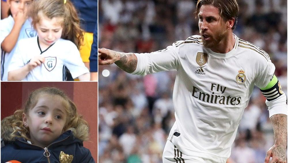 Sergio Ramos cumple el sueño de la pequeña Daniela