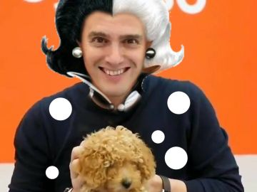 'Meme' sobre Albert Rivera y el perro lucas