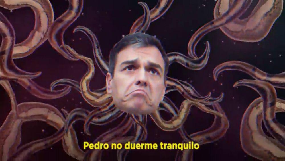 'Pedro no duerme tranquilo', el reguetón que Podemos le dedica a Sánchez en las elecciones generales 2019