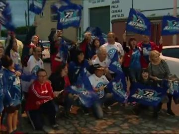 Así vibró Cervera con la victoria de Álex Márquez