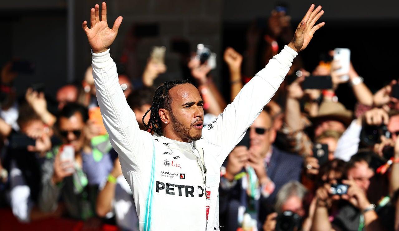hamilton, campeón del mundo de Fórmula 1