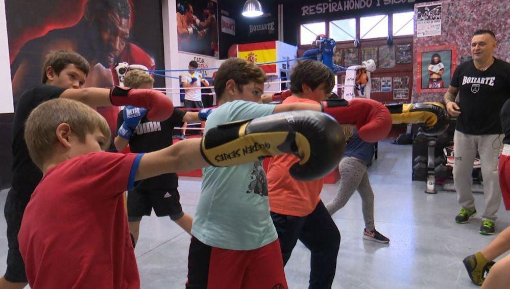 Pequeños boxeadores