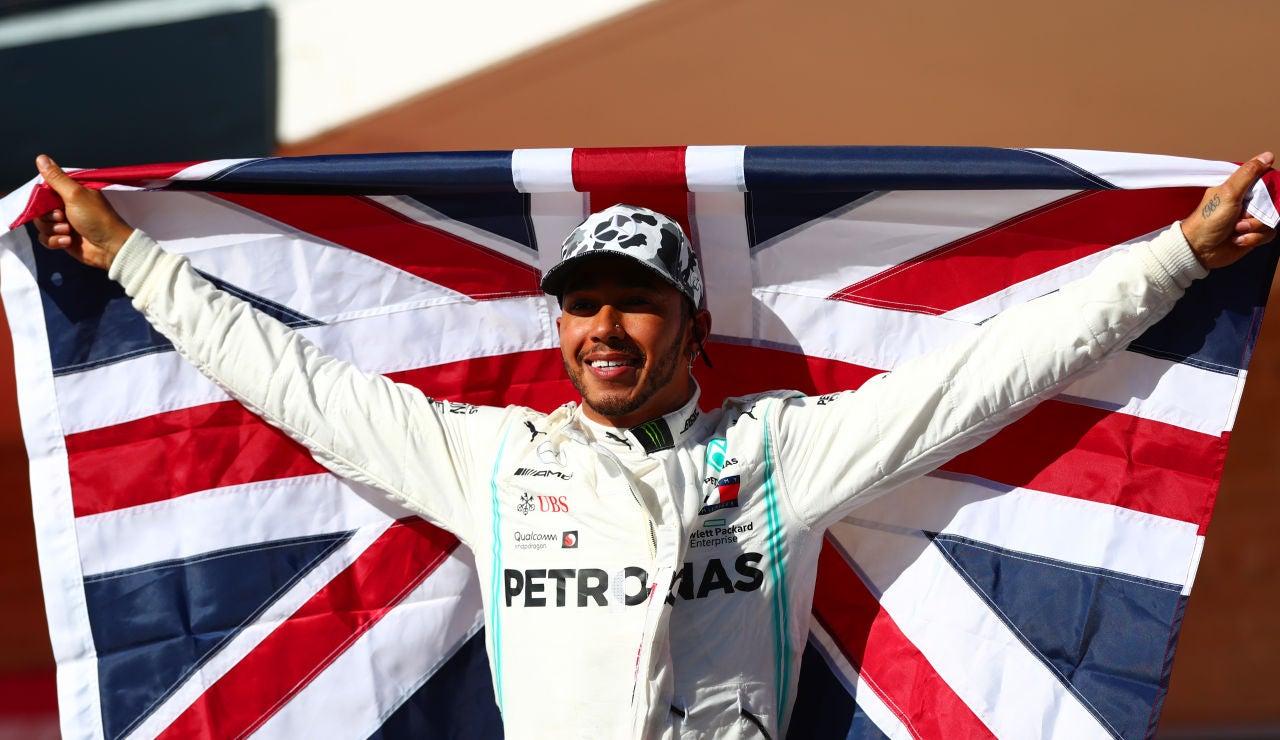 Lewis Hamilton, campeón del mundo de Fórmula 1