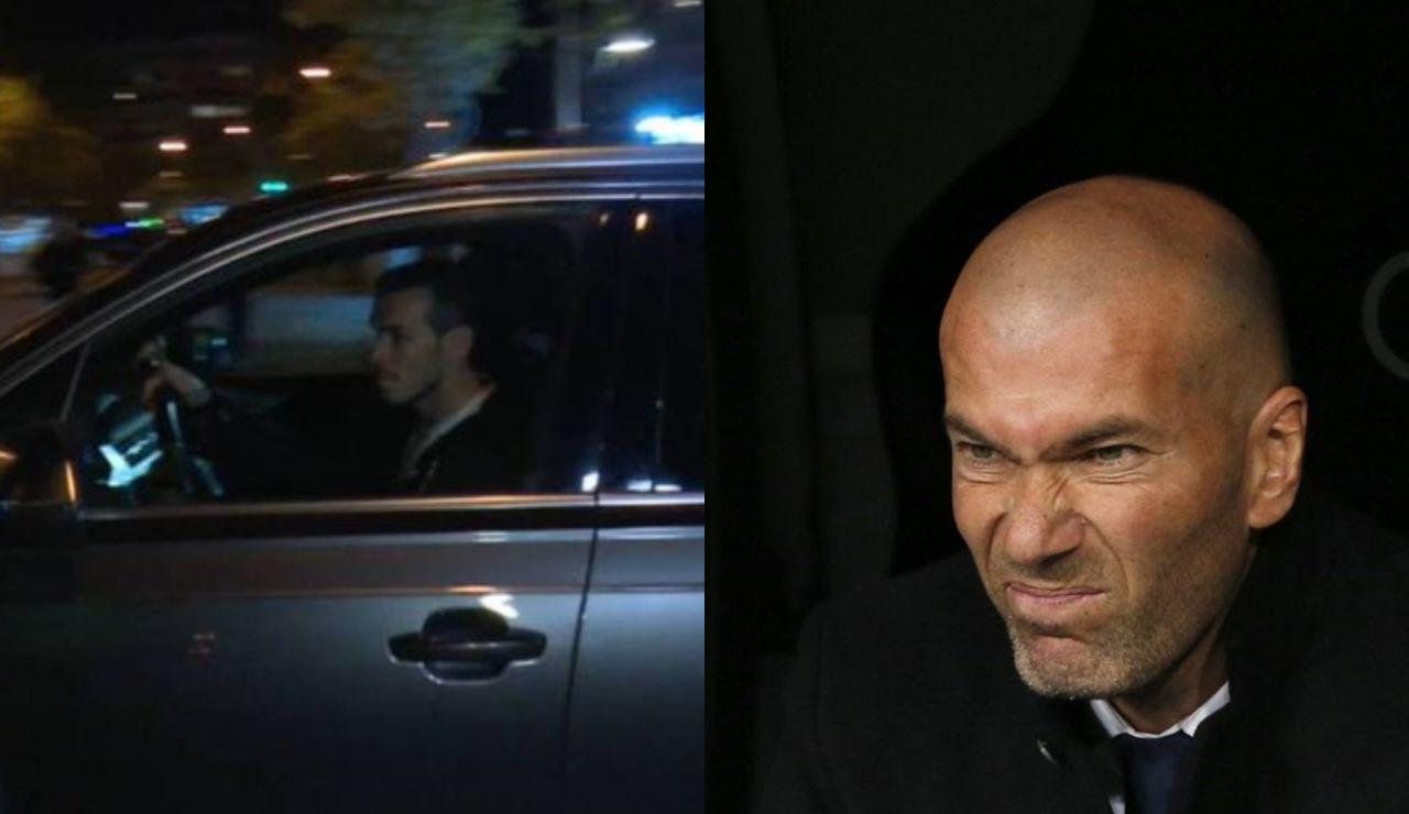 La imagen de Bale saliendo del Bermabéu