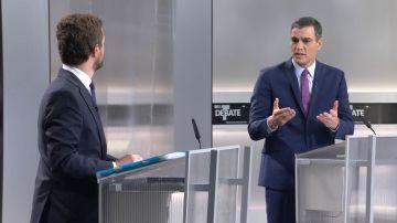 Elecciones generales 2019: Sánchez evita definir a Cataluña como una nación en un rifirrafe con Casado