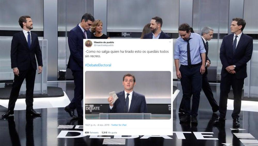 Los memes del debate electoral