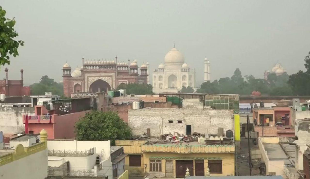 Purificadores de aire para proteger al Taj Mahal de la contaminación extrema en la India