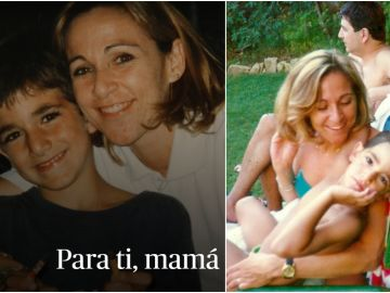 Ricky Rubio junto a su madre