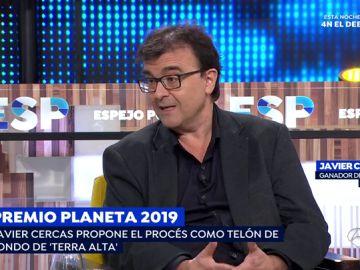 """Javier Cercas: """"Lo que pasa en Cataluña me ha cambiado como escritor y como persona"""""""