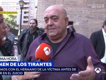 """El hermano de la víctima de Rodrigo Lanza: """"Le mató de un golpe por la espalda y le machacó en el suelo"""""""