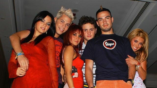 Anahí Puente, Dulce María, Maite Perroni, Alfonso Herrera, Christopher Uckermann y Christian Chávez en RBD