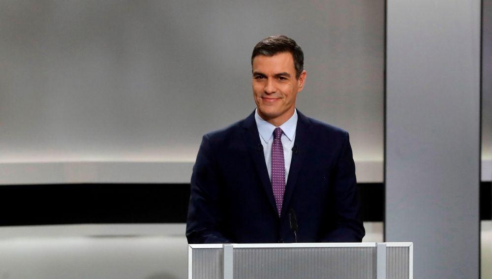 El candidato del PSOE, Pedro Sánchez