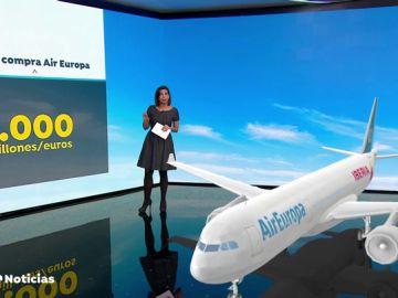 REEMPLAZO Iberia comprará Air Europa por mil millones de euros