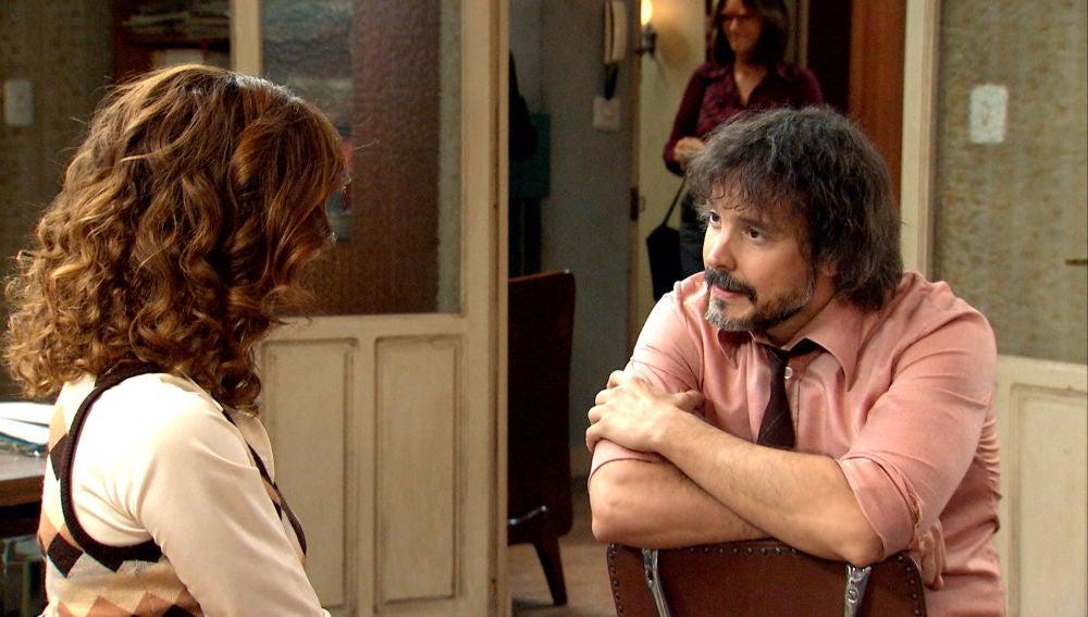 Guillermo le hace ver a Julia su enorme valentía