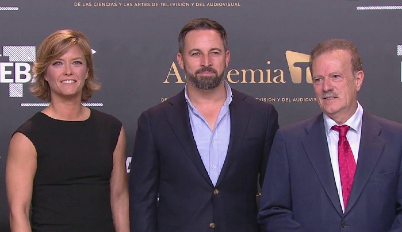Santiago Abascal llega al debate electoral por las elecciones generales 2019