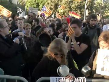 Los Mossos cortan los accesos a Barcelona por la Diagonal