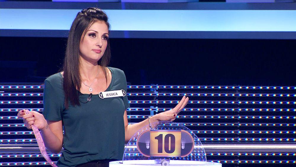 Una concursante se juega el indulto: tiene que contar un chiste que entre en el top-10 de '¡Ahora caigo!'