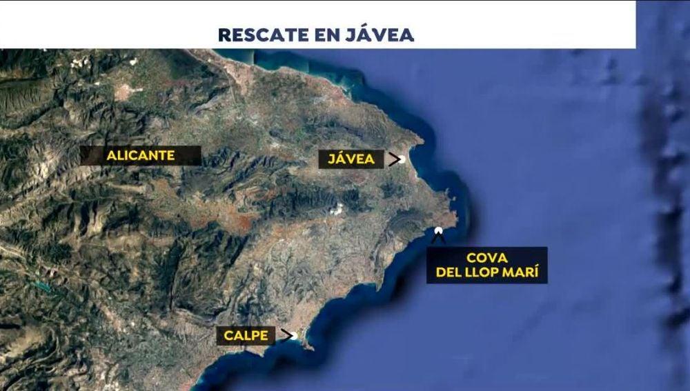 Rescate en Jávea