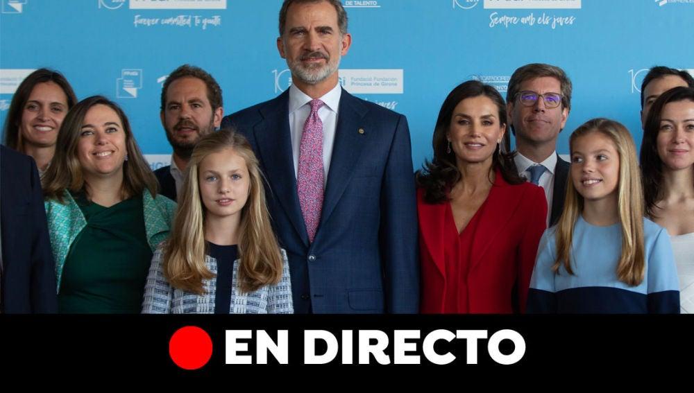 Premios Princesa de Girona, en directo