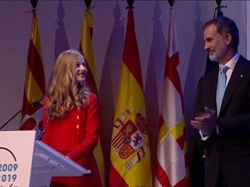 """Princesa Leonor: """"Cataluña siempre ocupará un lugar especial en mi corazón"""""""