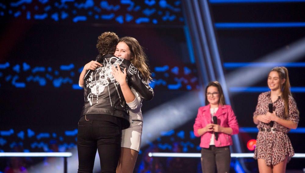 María Expósito pasa a la siguiente fase tras la decisión de David Bisbal y Niña Pastori en las Batallas de 'La Voz Kids'