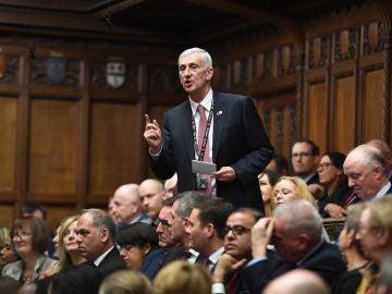 El nuevo presidente de la Cámara de los Comunes, Lindsay Hoyle