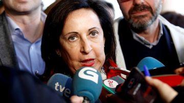 La ministra de Defensa en funciones, Margarita Robles