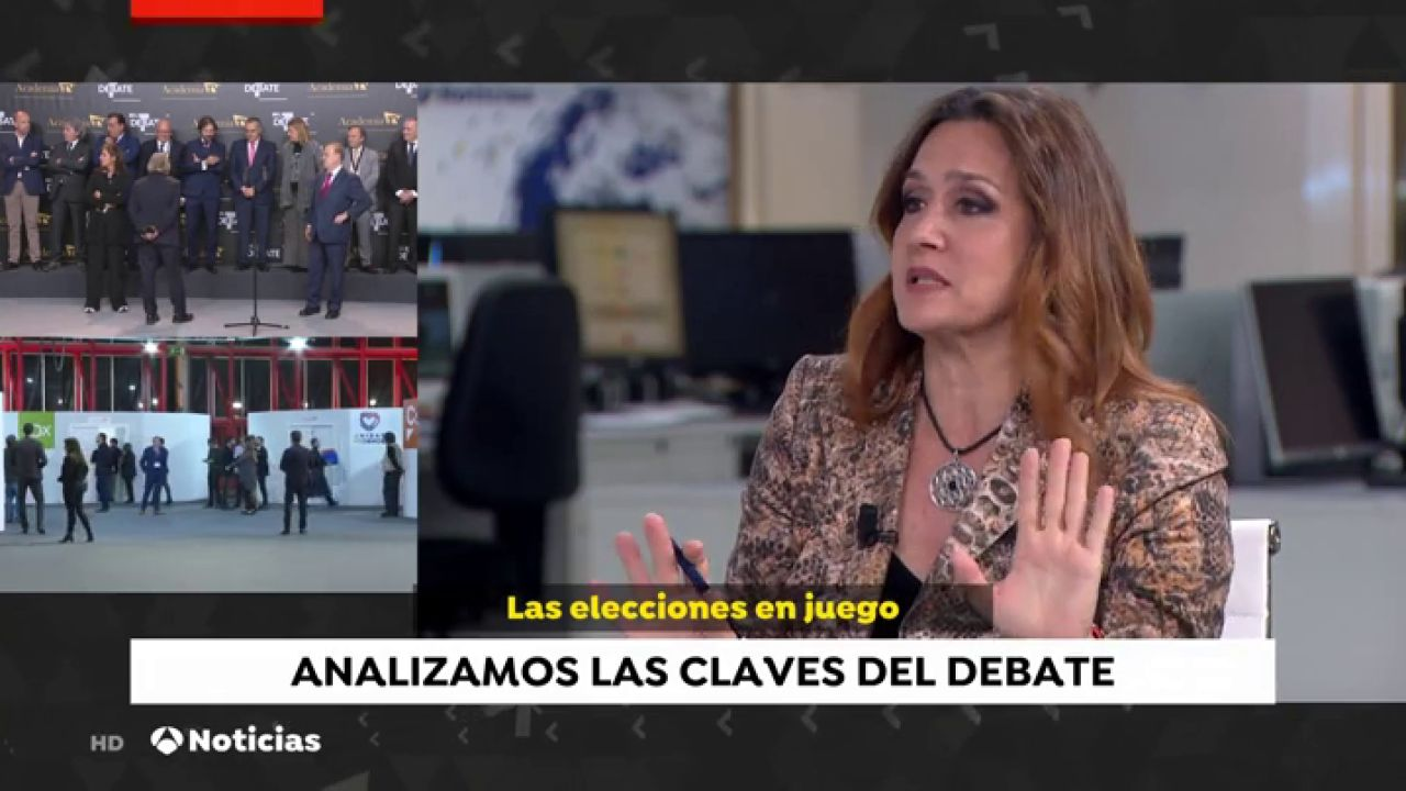 "Esther Jaén: ""El Debate Beneficia A Santiago Abascal Y A"