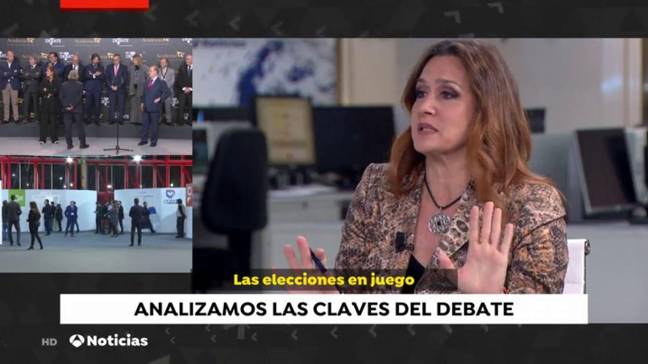 """Esther Jaén: """"El Debate Beneficia A Santiago Abascal Y A"""