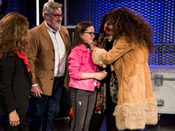 Rosario Flores roba a Paloma Puelles en las Batallas de 'La Voz Kids'