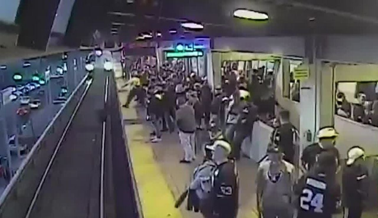 Accidente en el Metro de San Francisco