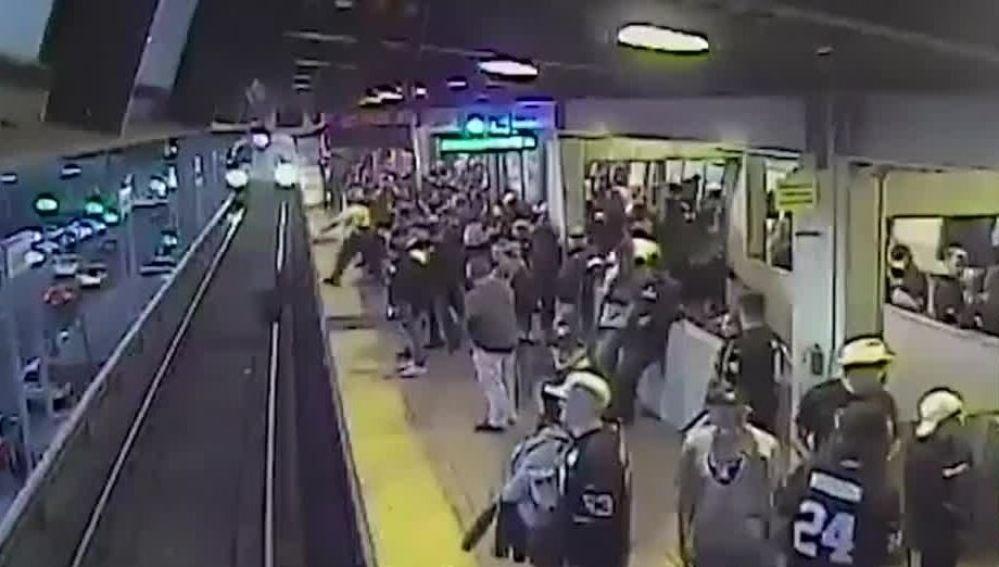 Accidente en el Metro de San Francisco